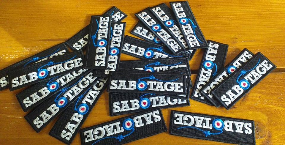 Obrázek k produktu: Nášivka Sabotage MOD